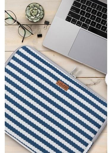 Hamur Easy Case 13 inç Laptop Çantası Notebook Kılıfı Trap New Lacivert